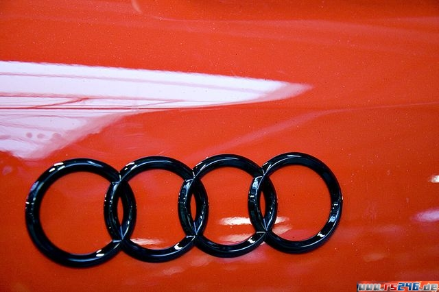 This Auction Is For 2 Audi Rings Decals Made From High Quality Carbon ...